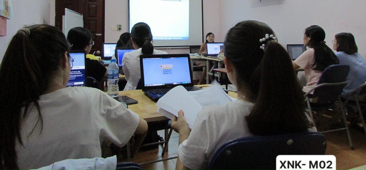 Khóa học xuất nhập khẩu tại trung tâm VinaTrain (nguồn:VinaTrain Việt Nam)
