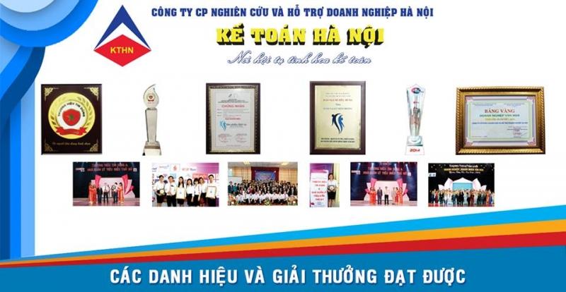 Kế toán Hà Nội với rất nhiều giải thưởng