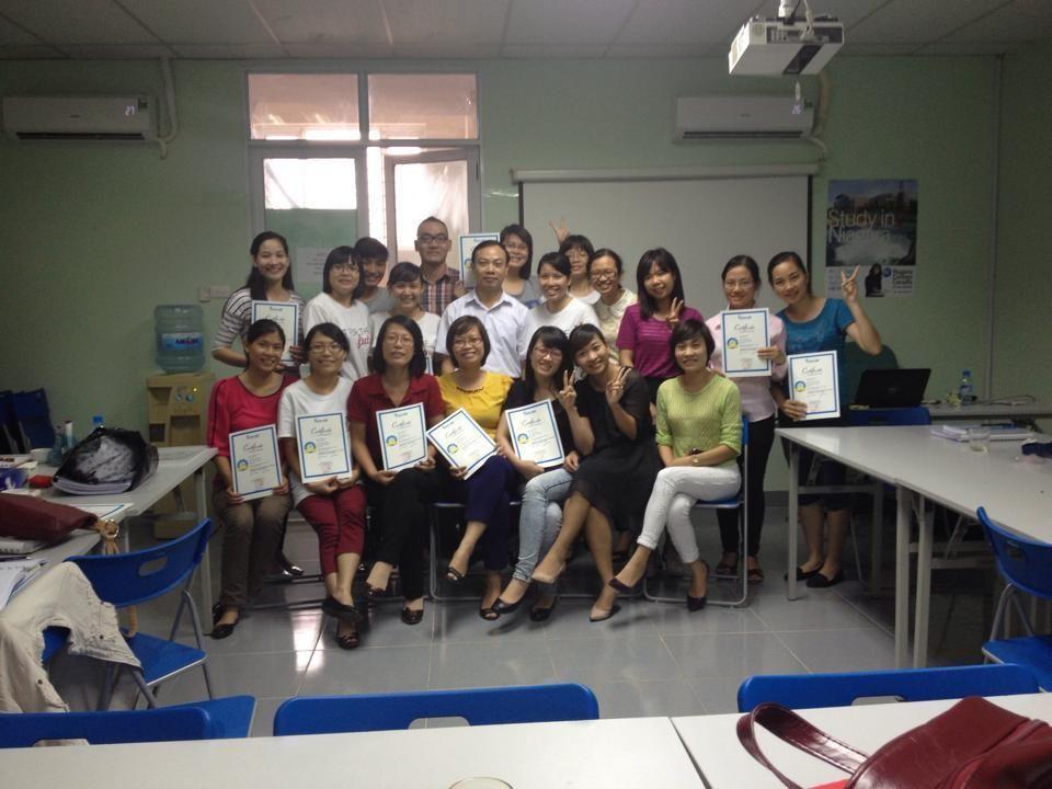 Hinh đào tạo lớp nghiệp vụ nhân sự tại trung tâm EduViet ( Nguồn: Eduviet)
