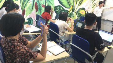 Hình ảnh lớp học quản trị nhân sự tại VinaTrain - Nguồn Trung tâm VinaTrain